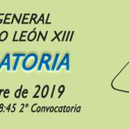 Convocatoria Asamblea General 2019. AMPA Colegio León XIII